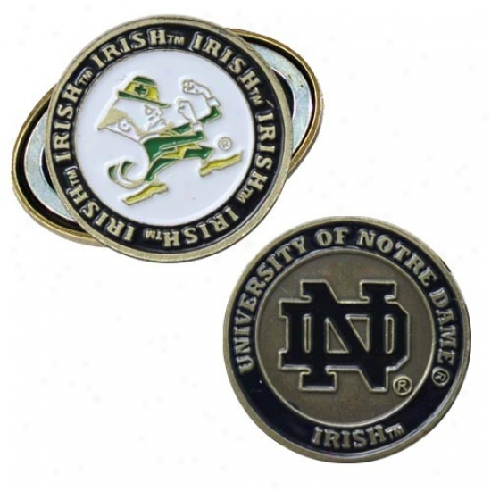 Ntre Dame Fighting Irish Magnetic Cap Clip & Missile  Marker