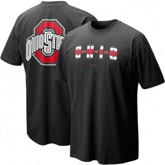 Ohio State Attire: Nike Ohio State Black Our House Local T-shirt