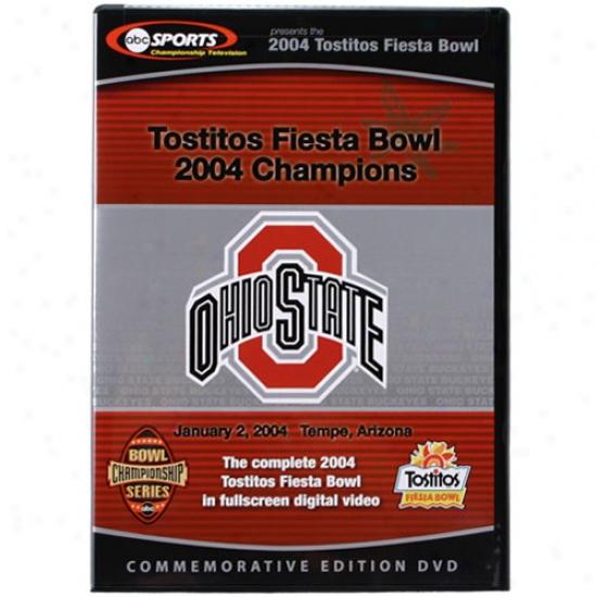 Ohio State Buckeyes 2004 Tostitos Fiesta Bowl Champions Dvd