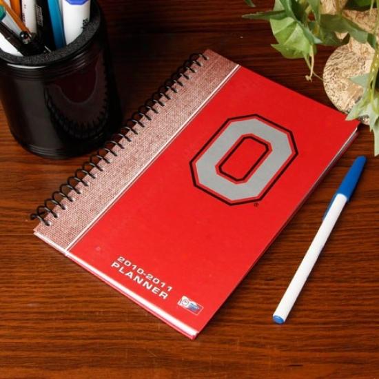 Ohio State Bucieyes 2010-11 5'' X 8'' Planner