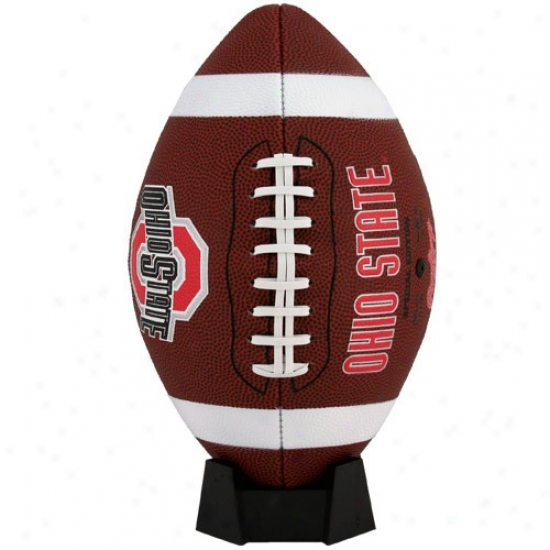 Ohi oState Buckyes Full-size Game Time Football