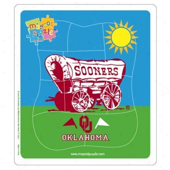 Oklahoma Soooners Mascot Puzzle