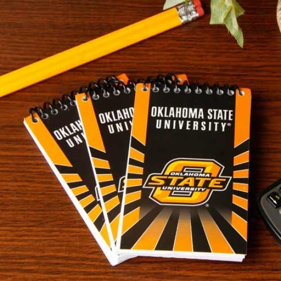 Oklahoma State Cowboys 3-pack Memo Books