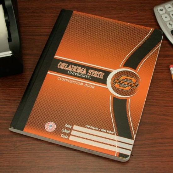 Oklahoma State Cowboys Composition Book