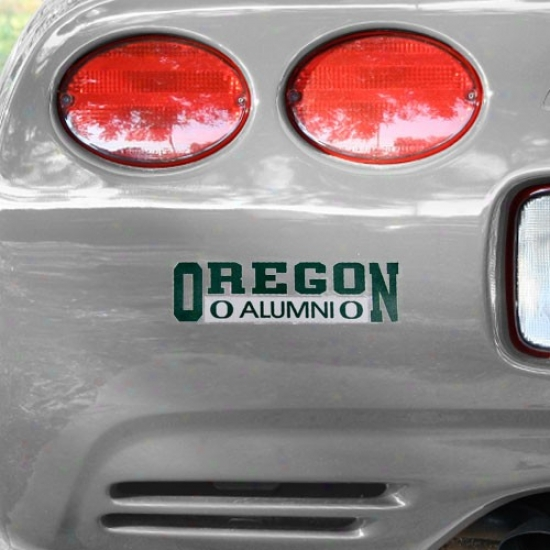 Oregon Ducks Alumni Car Decal