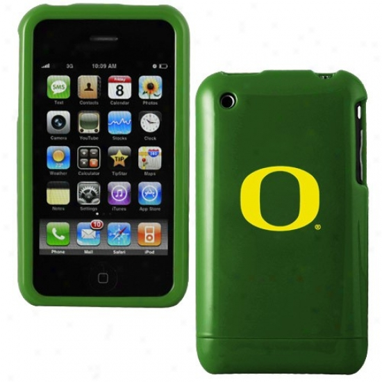 Oregon Ducks Green Team Logo Iphone Case