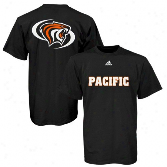 Pacific Tigers T Shirt : Adidas Pacific Tigers Dismal Prime Time T Shirt