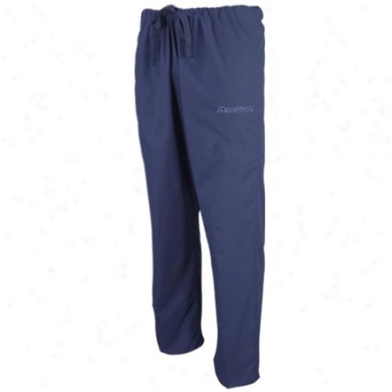 Penn State Nittany Lions Navy Blue Scrub Pants