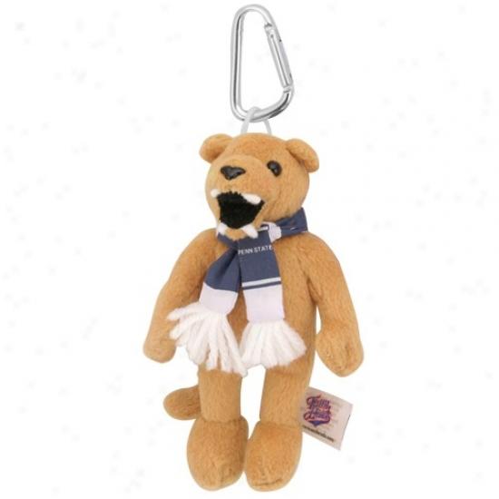 Penn State Nittany Lions Plush Mascot Keychain