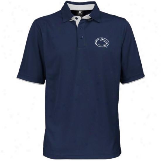 Penn State Polo : Penn State Navu Blue Classic Polo