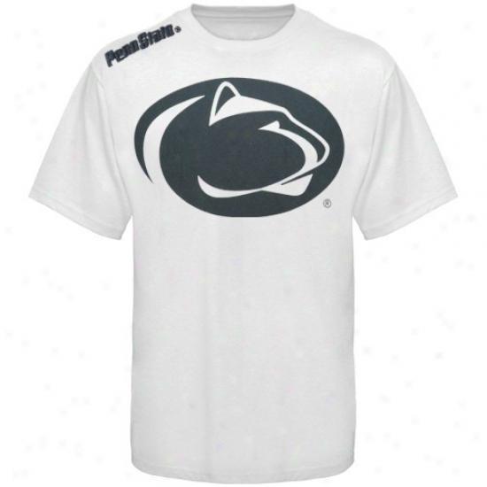 Penn State Shirts : Penn State White Phantom Shiits