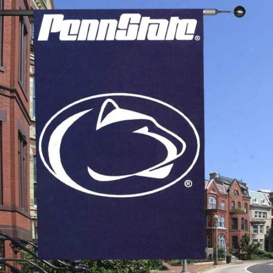 Penn State University Banner : Penn State University Applique Banner Banner