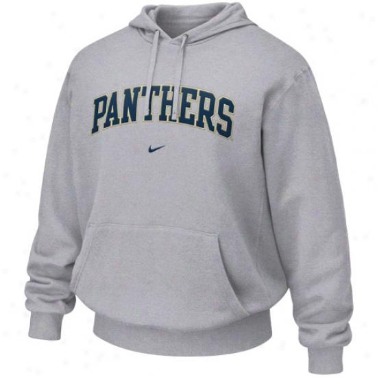Pitt Panthers Stuff: Nike Pittsburgh Panthers Ash Classic Hoody Sweatshirt