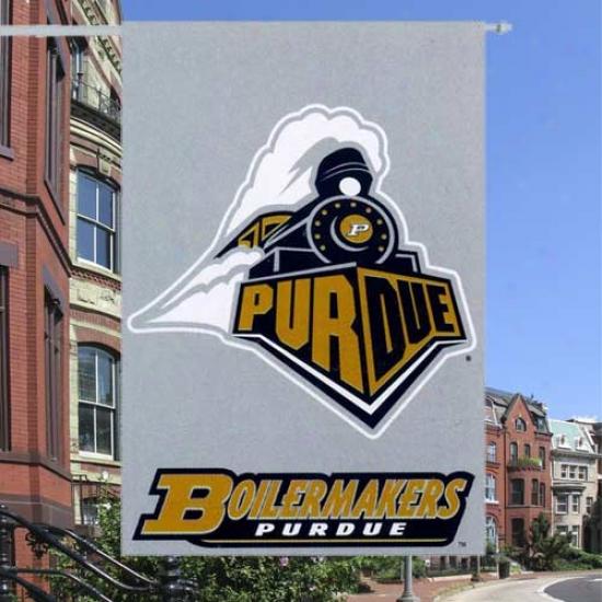 """purdue Boilermaker Flag : Purdue Boilermaker 28""""x40"""" Collegiate Banher Banner"""