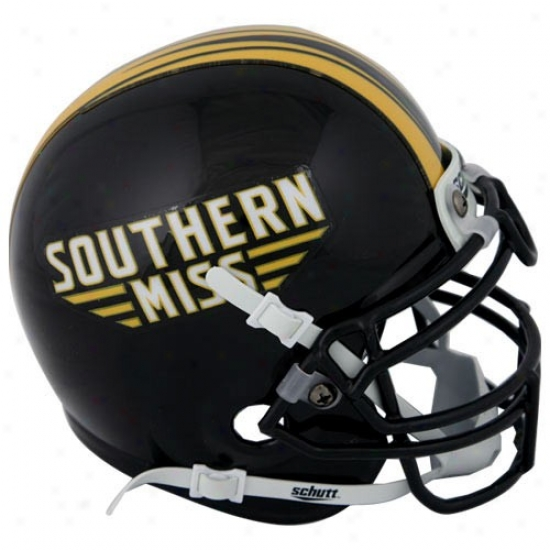 Schutt Southern Miss Golden Eagles Authentic Mini Helm