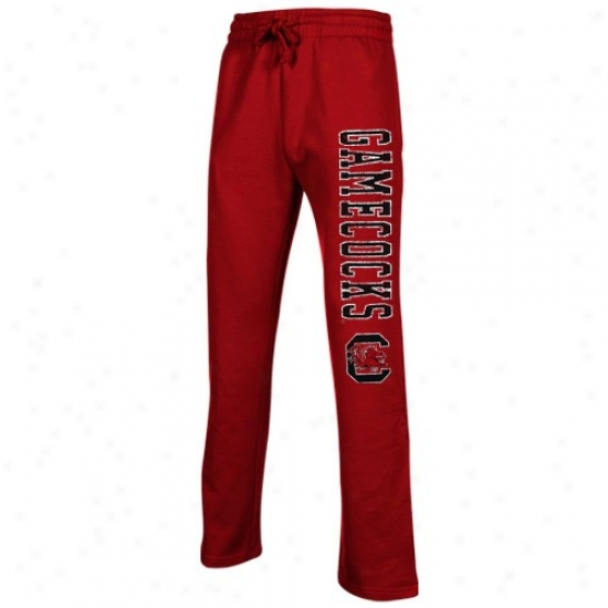 South Carolina Gamecocks Garnet Blitz Fleece Pants