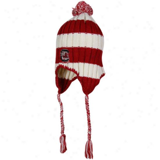 South Carolina Gamecocks Merchandise: South Carolina Gamefocks Garnet Alpine Knit Beanie