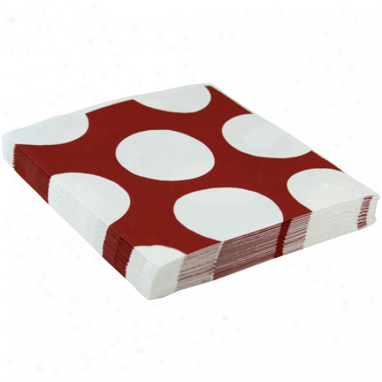 South Carolina Gameccks Polka Dor Luncheon Napkins