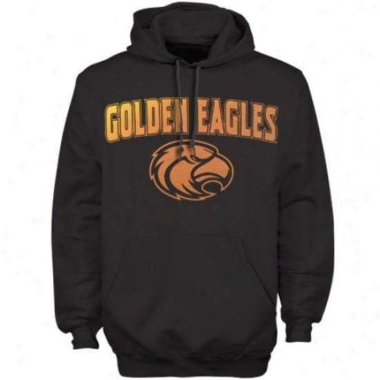 Southern Miss Golden Eagles Fleece : Southern Miss Gilden Eagles Black General notion Mascot Fleece