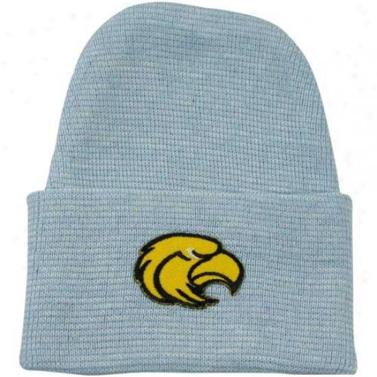 Southern Miss Golden Eagles Gear: Southern Miss Golden Eagles Newborn Light Blue Knit Beanie