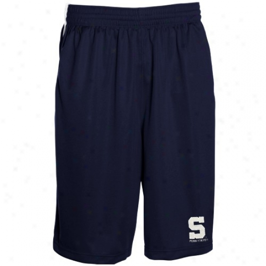 Sports Specialties By Nike Penn State Nittaany Lions Navy Blue Elegant Mesh Shorts