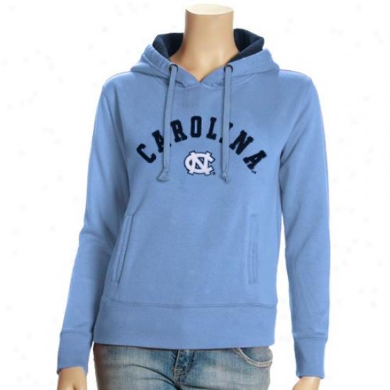 Targeels Hoodie : Tarheels (unc) Ladies Carolina Blue Meteor Hoodie