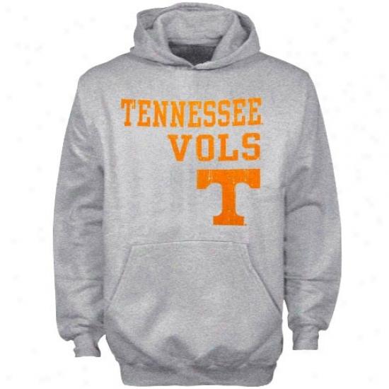 Tennessee Volunteers Fleece : Tennessee Volunteers Youth Ash Stacied Fleece