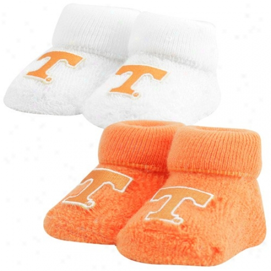 Tennessee Volunteers Infant 2-pack Bootie Socks