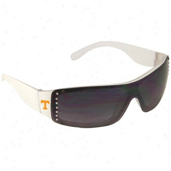 Tennessee Volunteers Ladies White Rhinsetone Fashion Sunglasses