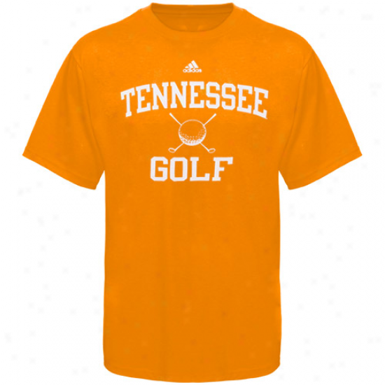Tennessee Volunteers Tshirts : Adidas Tennessee Volunteers Tennessee Orange Collegiate Mockery Series Golf Tshirts