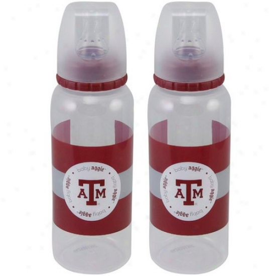 Texas A&m Aggies 2-pack Baby Bottle Set