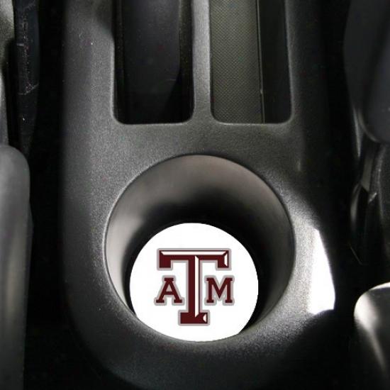 Texas A&m Aggies Absorbent Car Coaster