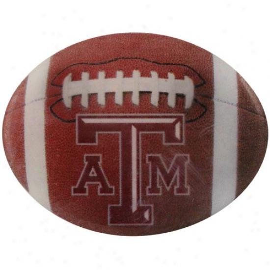 Texas A&m Aggies Cap : Texas A&m Aggies Double Back Football Pin