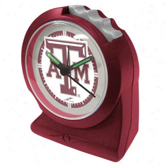 Texas A&m Aggies Gripper Alarm Clock