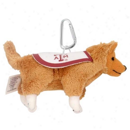 Texas A&m Aggies Plush Mascot Keychain