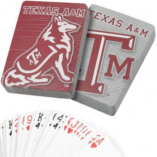 Teaxs A&m Aggies Team Spirit Two-pack Playing Cards
