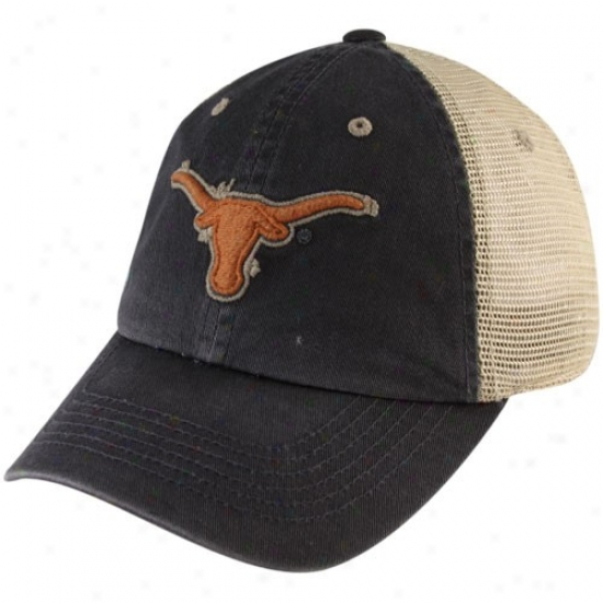 Texas Longhorns Gear: Top Of The World Texas Longhorns Charcoal Momento Adjustable Mesh Hat
