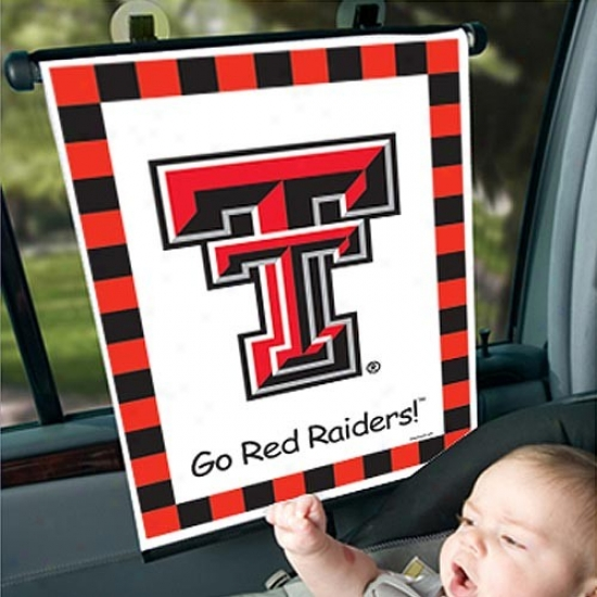 Texas Tech Red Raoders Automobile Sunshade