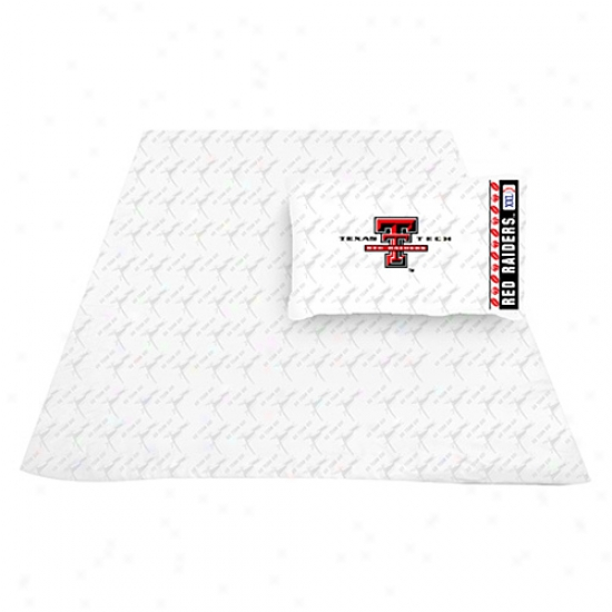 Texas Tech Red Raiders Full Size Sheet Set