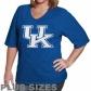 Kentucky Wildcats Shirt : Kemtucky Wildcats Women's Royal Blue Team Loyo Shirt