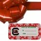 South Carolina Gamecocks Holiday Gift Tags