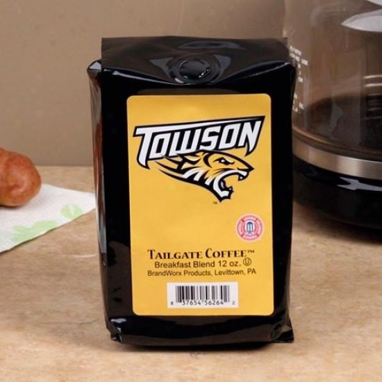 Towson Tigers 12oz. Bag Of Tailgate Coffee