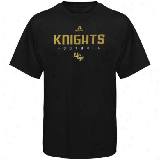 Ucf Knights Attire: Adidas Ucf Knightx Black Sidelije T-shirt