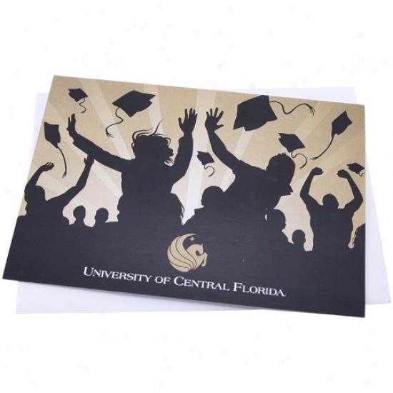 Ucf Knights Celebration Graduation Card