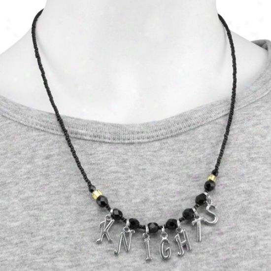 Ucf Knights Ladies Chant Necklace