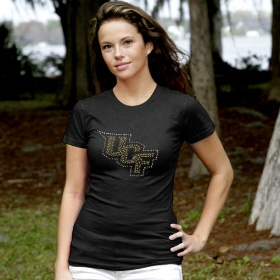 Ucf Knights Tee : My U Ucf Knights Ladies lBack Graduated Rhinestone Tee