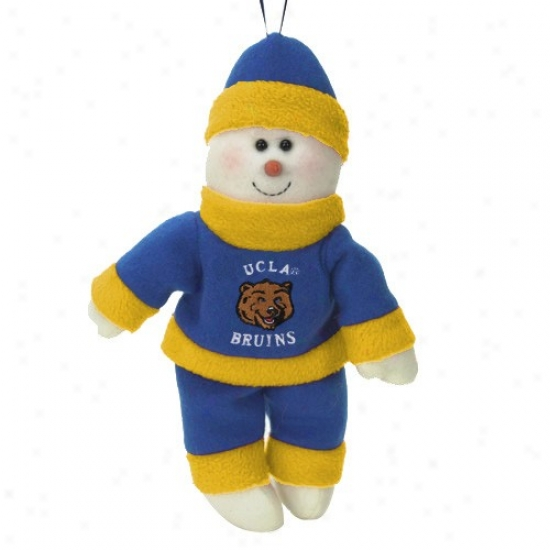 Ucla Bruins 10-inch Snowflake Friend Plush