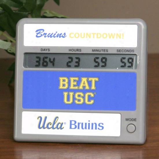 Ucla Bruins Rifalry Countdown Clock