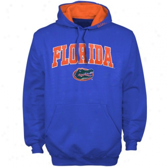 Uf Gator Fleece : Uf Gator Royal Classic Twill Pullover Fleece