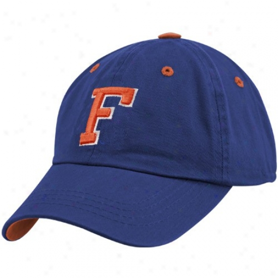 Uf Gator Hat : Top Of The World Uf Gator Royal Blue Crew Adjustable Hat